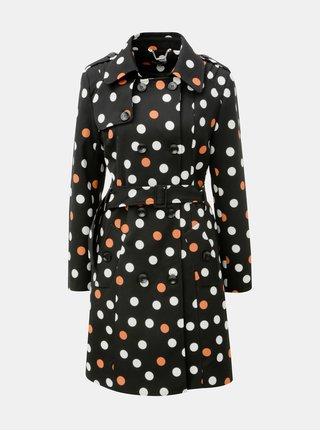 Černý puntíkovaný kabát Smashed Lemon