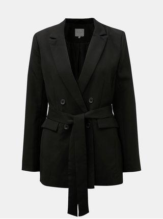 Sacou negru cu cordon textil VILA Vitora