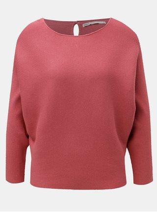 Růžový lehký svetr s netopýřími rukávy ONLY Vita