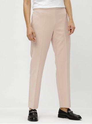 55ecc90b84d8 Svetloružové nohavice s vysokým pásom DKNY Foundation