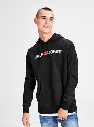 Hanorac negru cu print Jack & Jones Corp
