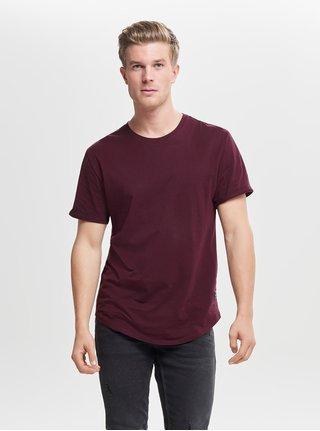 2d449e5e5684 Vínové basic tričko ONLY   SONS Matt