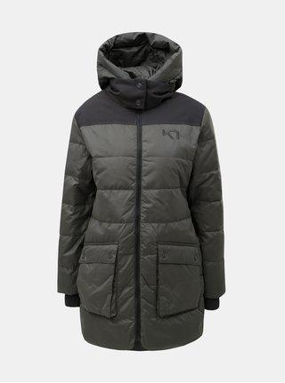 Tmavosivý zimný nepremokavý kabát Kari Traa Rothe