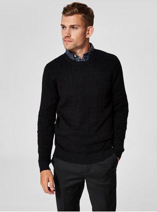 Černý svetr Selected Homme Clayton