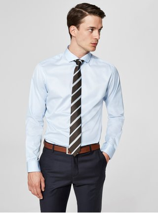 Světle modrá formální regular fit košile Selected Homme Regsel