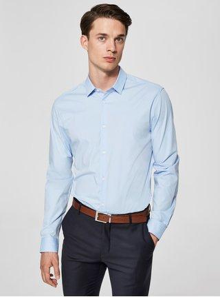 Svetlomodrá formálna slim fit košeľa Selected Homme Preston