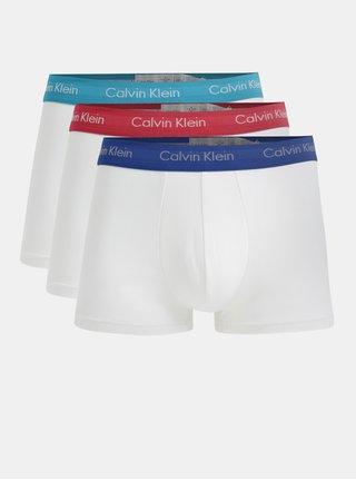 Sada tří boxerek v bílé barvě Calvin Klein Underwear