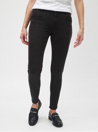 Černé skinny džíny s nízkým pasem Scotch & Soda