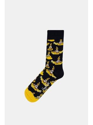 Žluto-černé unisex ponožky Happy Socks Yellow Submarine