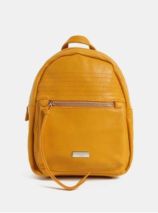 Hořčicový elegantní batoh ZOOT