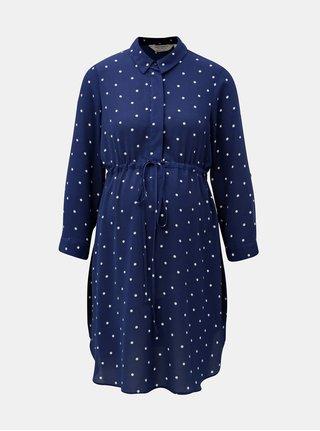 Bluza albastra cu buline pentru femei insarcinate Dorothy Perkins Maternity