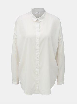 Bílá volná košile s dlouhým rukávem VERO MODA AWARE Fabulous