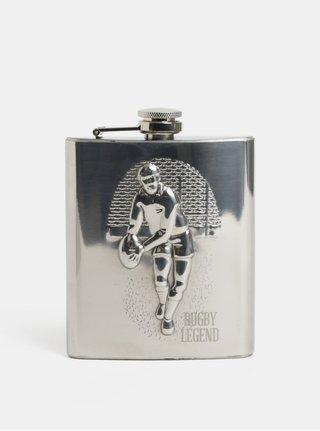 Placatka ve stříbrné barvě s motivem rugby Something Special