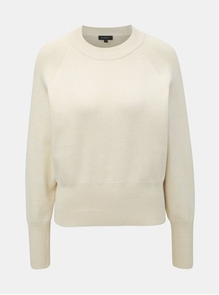 Krémový sveter s netopierími rukávmi Selected Femme Stefania