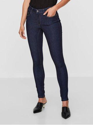 Tmavě modré skinny džíny VERO MODA Seven