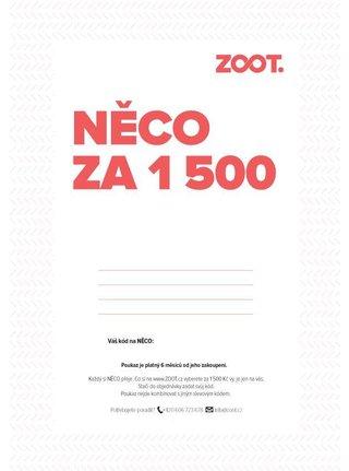 Elektronický poukaz na NĚCO ze ZOOTu v hodnotě 1500 Kč fbce895ec52