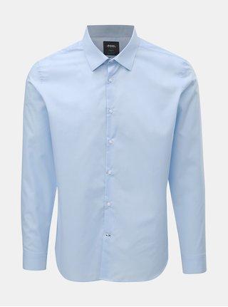 Svetlomodrá slim košeľa Burton Menswear London