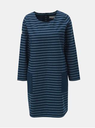 Tmavě modré pruhované šaty Brakeburn