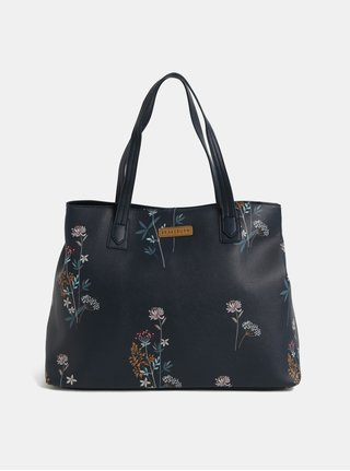 Tmavomodrý kvetovaný shopper Brakeburn 172a9590e7d