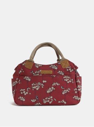 Červená malá květovaná kabelka Brakeburn
