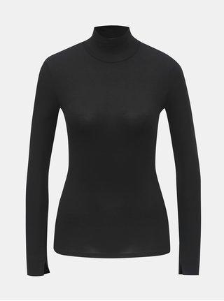 Černé tričko se stojáčkem TALLY WEiJL