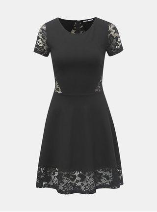 Černé šaty s krajkovými detaily TALLY WEiJL 552f1b3416