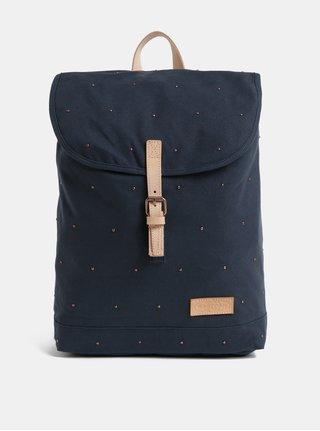 Modrý dámsky batoh s ozdobnými detailmi Eastpak Ciera