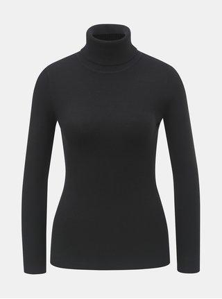Čierny sveter s rolákom ZOOT