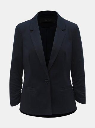 Tmavomodré kostýmové sako s 3/4 rukávom VERO MODA Jana