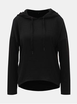 Černý lehký svetr s kapucí ONLY Ashley