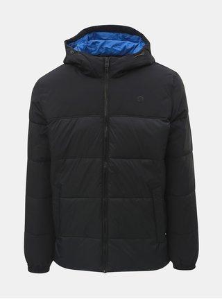 Černá prošívaná voděodpudivá zimní bunda Jack & Jones Cross