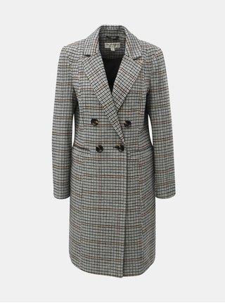 Čierno–biely károvaný kabát Miss Selfridge