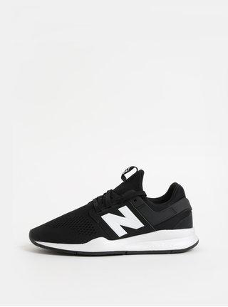 Bílo-černé pánské tenisky New Balance