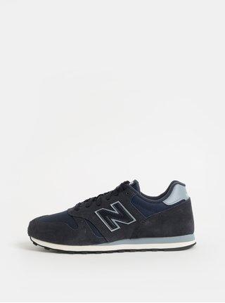 Tmavě modré pánské semišové tenisky New Balance