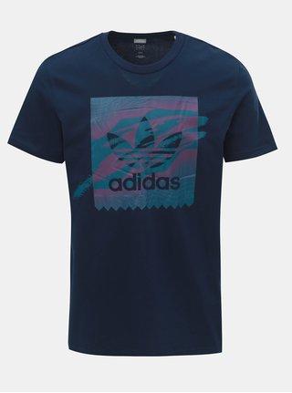 Tmavě modré pánské tričko adidas Originals Tennis BB
