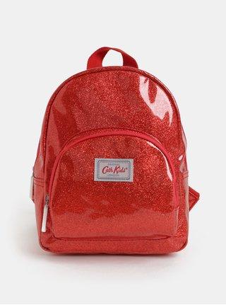 Červený holčičí třpytivý batoh Cath Kidston
