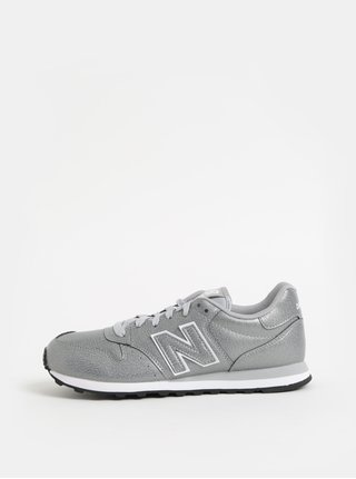 Dámské tenisky ve stříbrné barvě New Balance 00a6deee468
