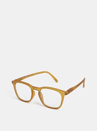 Žluté unisex ochranné brýle k PC IZIPIZI #E
