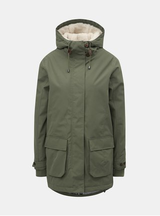 Jacheta verde de dama de iarna Nugget Hita