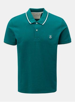 Zelené polo tričko Selected Homme Season