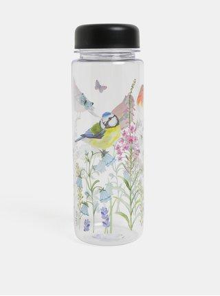 Láhev na vodu s motivem ptáčků a květin Sass & Belle Garden birds