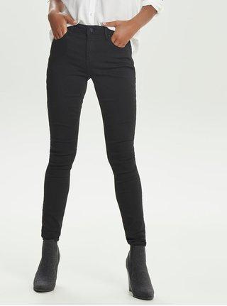 Černé skinny džíny s kapsami ONLY Carmen