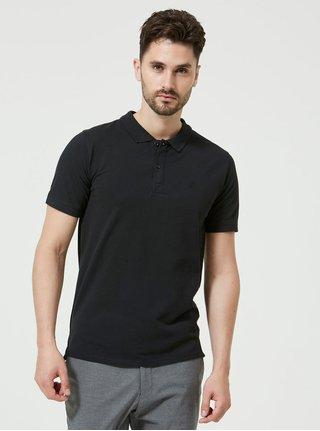 Tricou polo negru - Selected Homme Haro