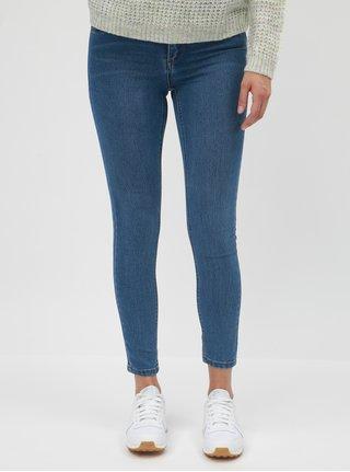 Modré džíny s vyšisovaným efektem Dorothy Perkins Frankie