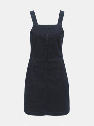 Tmavě modré džínové šaty s kapsami Dorothy Perkins