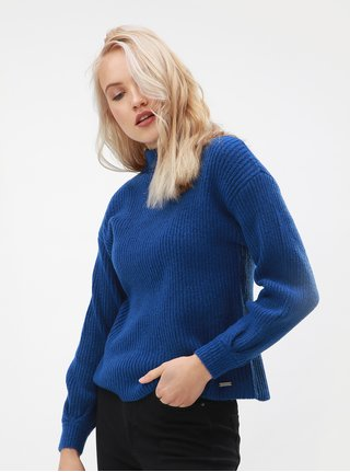 Modrý dámsky sveter Broadway Gaela