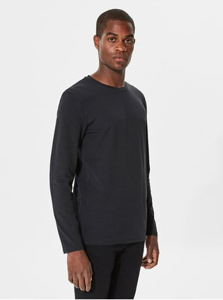 Bluza basic neagra Selected Homme Basic