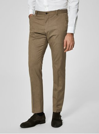 Pantaloni maro de costum - Selected Homme New one