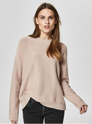 Staroružový sveter Selected Femme Margarite