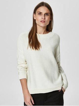 Krémový svetr Selected Femme Margarite